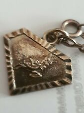 More details for babycham silver 5 star christmas necklace coasters
