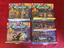 1994 Micro Machines Power Rangers Collection lot of 5 different
