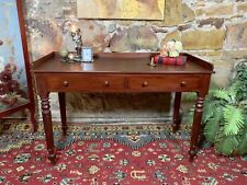 Fine Antique Colonial Cedar Desk~Drawers~Hall,Sofa Table-Australian~c1880