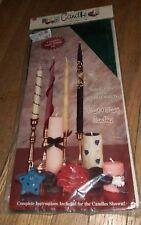 1995 Candle Making Kit Sensations 54935 Smooth 100% Beeswax sheets Kit Jade New