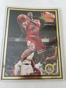 HEROES OF THE GAME MAGAZINE #59 MICHAEL JORDAN BULLS BOOK NBA 379 361/3000 JAMES