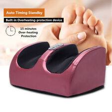 Electric Heating Foot Massager Shiatsu Kneading Machine Calf Leg Pain Relief 220