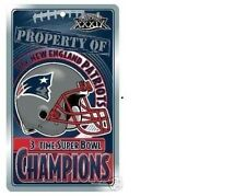 MINT NEVER USED NEW ENGLAND PATRIOTS 3x Super Bowl Champs Locker SIGN TOM BRADY