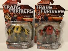 Transformers War for Cybertron Bumblebee Cliffjumper MOSC Generations WFC Pair