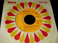 NINA SIMONE Ain't Got No; I Got Life CROSSOVER SOUL FUNK 45 Original RCA~HEAR