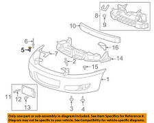 GM OEM Front Bumper Grille Grill-Bumper Cover Stud 11517103