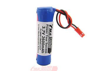 Portable audio 1S1P Sanyo Protected Li-ion Rechargeable Battery 3.7V 2600mAh SYP