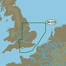 - MAP NT + Gran C área M-EW-C229 tarjeta C Isla de Wight a Kingston upon Hull