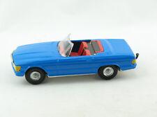 Blechspielzeug - Mercedes SL Cabrio, CKO Replica, blau von KOVAP 0607b