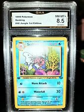 FIRST EDITION Seaking Evolution Pokemon Graded Nm Mint+ Gma Card not Psa