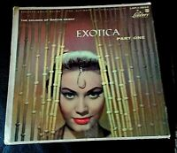 """EXOTICA Part One / MARTIN DENNY 1957 LIBERTY 7"""" EP 3034 Lounge/Exotica/Pacific"""