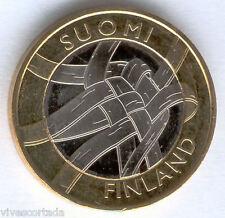 "5 Euros Finlandia 2011 Mimbre "" Karelia "" bimetalica @@ NOVEDAD @@@"