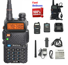 Police Fire Radio Two Way Scanner Transceiver Portable F-Antenna Walkie Talkie