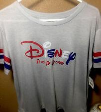 Disney Knit Top Skimmer Heather Grey XL Girls Women's