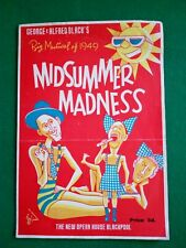 THE NEW OPERA HOUSE BLACKPOOL MIDSUMMER MADNESS, BIG MUSICAL OF 1949s