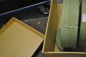 4 METER (€2,50/m) GURTBAND, TASCHENGURT BAUMWOLLE Fb. OLIV  Breite ca 50 mm Nr.2