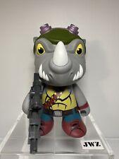 "KIDROBOT Nickelodeon Tortugas Ninjas Adolescentes Mutantes TMNT 7"" Rocksteady figura"