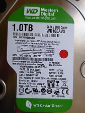 Western Digital WD10EAVS-32D7B1   HARNHT2MFB   29 JAN 2009   1 TB  #01