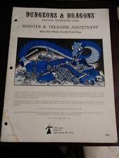 Dungeons & Dragons Monster & Treasure Assortment TSR 9047