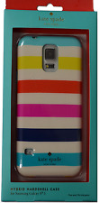 Kate Spade Hybrid Hardshell Case Multi color Striped for Samsung Galaxy S5