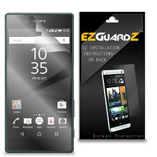 6X EZguardz Screen Protector Skin Cover Shield HD 6X For Sony Xperia Z5 (Clear)