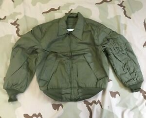 US GI TANKER JACKET COLD WEATHER HIGH TEMPERATURE RESISTANT NSN 8415-01-074-9416