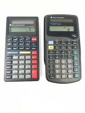 Texas Instruments Ti-34 & Ti-36X Solar / Pre-Owned / Scientific
