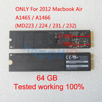 "64GB SSD THNSNS064GMFP FOR Apple MacBook Air 11"" A1465 13"" A1466 Mid 2012"