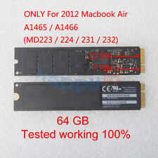 """64G THNSNS064GMFP SSD 17+7pin for Apple MacBook Air 11"""" A1465 13"""" A1466 Mid 2012"""