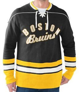 "Boston BRUINS NHL ""Icing"" Pullover Hoodie Jersey Sweater by GIII NWT 50% off!"