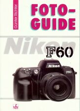 Gunter Richter Foto-Guide Nikon F60 book German