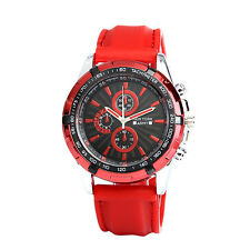 Newyork Army Men's Red Silicon Strap Watch NYA2658