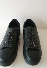 Zara Damen Schwarz Sneakers/Turnschuhe Schuhe Neu Größe UK 6 EU 39