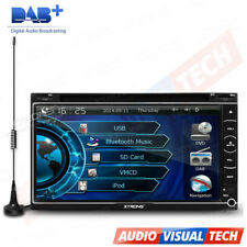 "XTRONS 6.95"" Double DIN DVD Player Car Stereo DAB+ Digital Radio GPS Navigation"