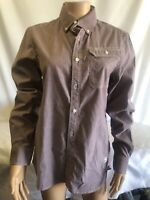 Chemise G-star raw Modele: D00516 OXFORD BTD Couleur Violet Taille S Neuf !!!!