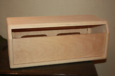 rawcabs Pine unfinished head for black face fender bassman chassis project