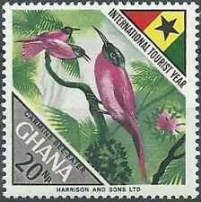 Timbre Oiseaux Ghana 305 ** (40372)