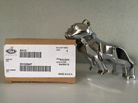 Brand New In Box Genuine Mack Trucks Silver Chrome Bulldog Bonnet Ornament Dog
