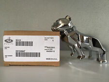 Genuine Mack Trucks Silver Chrome Bulldog Bonnet Ornament Dog