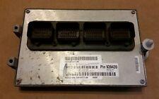 2008 DODGE NITRO 3.7L ENGINE CONTROL MODULE COMPUTER ECU ECM 05187509AF