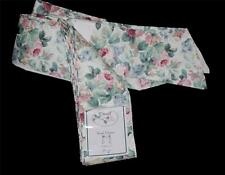 """Croscill Vtg CHARTWELL Cottage Chic Floral Roses Scarf Valance  43""""W x 145""""L NIP"""