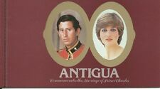 Antigua 1982 - Royalty Royal Wedding Prince Diana Booklet - Sc 627 MNH