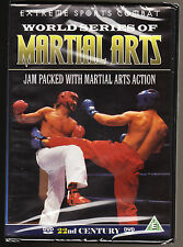 WORLD SERIES OF MARTIAL ARTS - EXTREME SPORTS COMBAT - NEW & SEALED R2 DVD -RARE