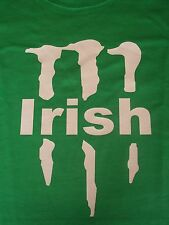 MONSTER IRISH TSHIRT ST PATRICKS DAY