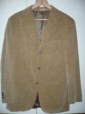 Chaqueta Americana Emidio Tucci color marron talla 46 pana / men blazer Size 46