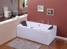 Whirlpool Badewanne 180x90 Luft+Wasser Heizung #58