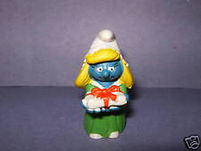 SMURF -- Holiday Christmas Smurfette  Green Dress