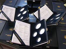 1999 Proof Gold Eagle 4 Piece Original Empty Mint Box & Certificate COA