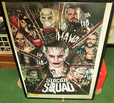 SUICIDE SQUAD MARVEL POSTER COLLECTABLE LIMITED RUN US ROBBIE JOKER HARLEY
