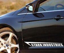 JDM OEM autocollant stark Industries Iron Man Autocollant 58 CM autocollant sticker 2 st.
